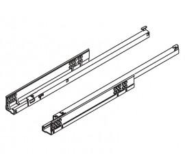 TANDEM vodilica potpuno izvlačenje + BLUMOTION 550 mm - 30 kg
