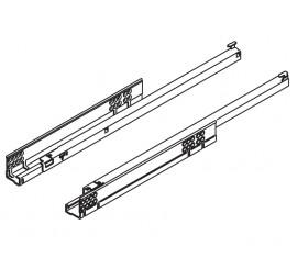 TANDEM vodilica djelomično izvlačenje TIP-ON 550 mm - 30 kg
