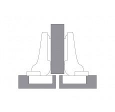 CLIP top BLUMOTION 110° spojnica - 9 - vijak