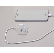 Versapick kvadratna USB utičnica 5V(2P) - inox